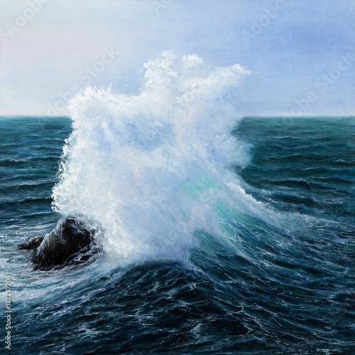 Ocean waves - 187297706