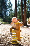 Cute little boy on the playground. - 187305984