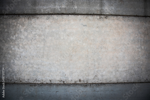 Texture of a grey  concrete wall