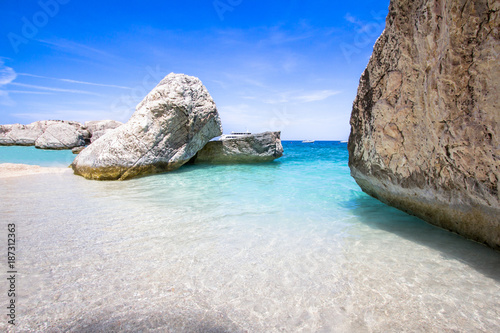 Cala Mariolu on Sardinia island, Italy