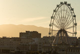 Looking towards the Ferris Wheel Called