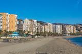 Malagueta beach in Malaga, Andalusia