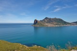View of Hout Bay from Chapmans Peak Drive near the Cape of Good Hope, South Africa