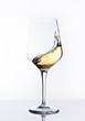 Copa de vino blanco