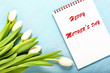 Spring background. Card for Mothers day, 8 March, Easter