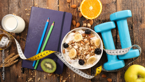 fitness breakfast plan - 187336996