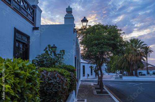 Foto op Canvas Canarische Eilanden Yaiza, Lanzarote, Canary islands, Spain