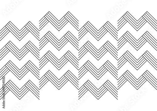 Texture astratto linee bianco nero