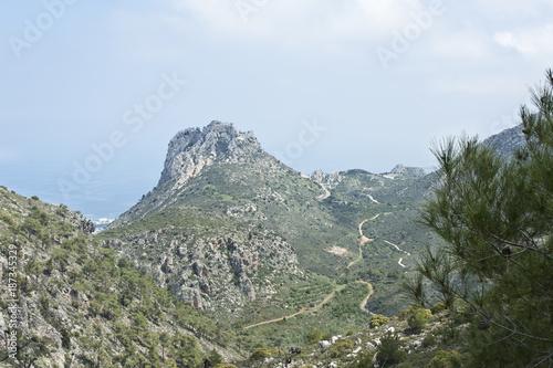 Fotobehang Cyprus Saint Hilarian castle North Cyprus