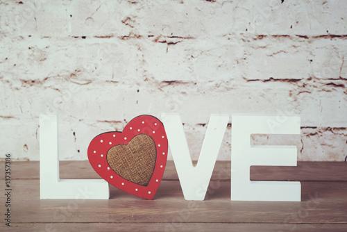 Foto Murales Love, feliz día de san valentin