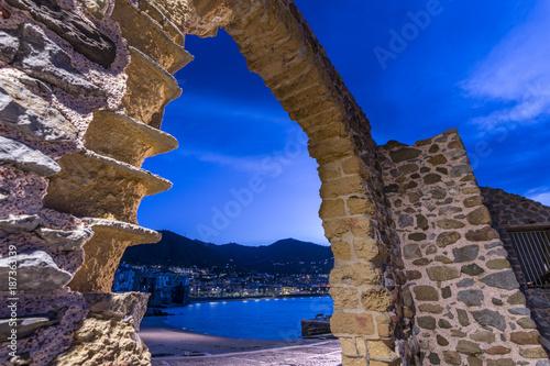 Staande foto Donkerblauw CEFALU' - SICILIA
