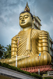 Big Buddha statue in Dickwella, Sri Lanka