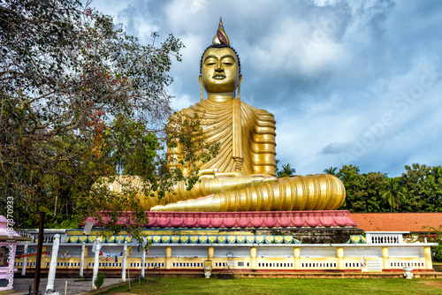 Big Buddha statue in Dickwella, Sri Lanka