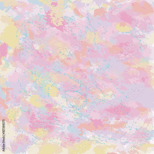 Fototapeta Pastel abstract Watercolor texture fantasy background for your design illustration