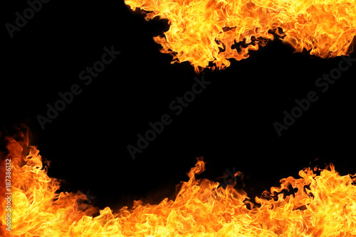 blaze of fire flame background
