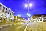Fototapeta City - Centrum miasta - Ulica Zamkowa - Pabianice  © sanzios