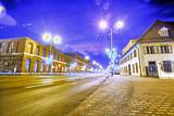 Centrum miasta - Ulica Zamkowa - Pabianice