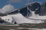 Dovrefjell mit Snöhetta, Norwegen - 187391103
