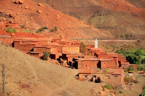 Fotobehang Marokko La faute des ocres