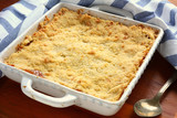 Old fashioned apple crumble - 187396754