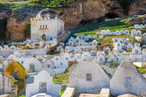 Cemetery in Fez, Morocco