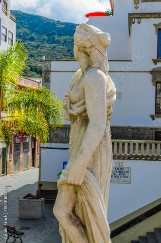 Deurstickers Canarische Eilanden Icod de los Vinos, in the old town.