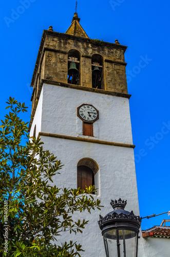 Deurstickers Canarische Eilanden The Iglesia de San Marcos is a listed church in Icod de los Vinos in the north-northwest of the Canary Island of Tenerife.