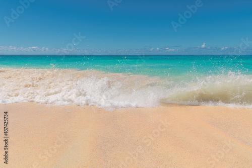 Foto Murales Beautiful Caribbean beach.