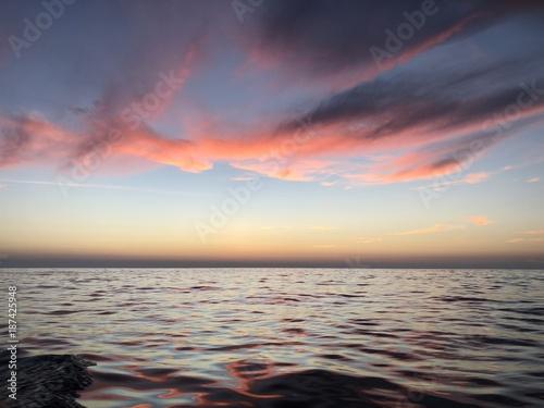 Keuken foto achterwand Zee zonsondergang Koh Phi Phi Sunset