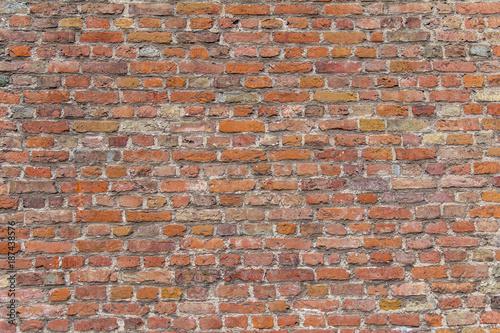 In de dag Baksteen muur brick wall detail