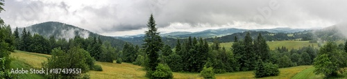 Panoramatic view on the country around