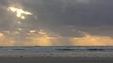 Les bouchots de Quend plage au crépuscule - 187441323
