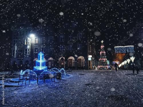 Olsztyn Zima Stare Miasto © FP Foto