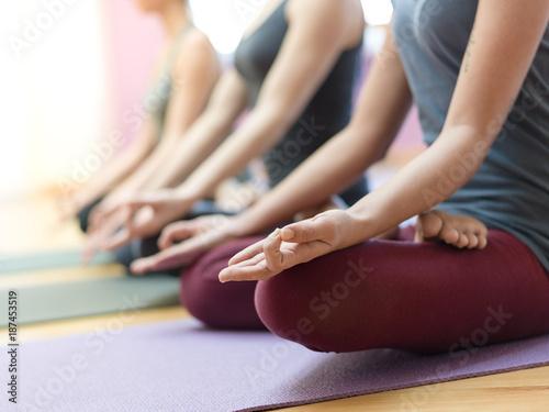 Papiers peints Kiev Yoga and mindfulness meditation