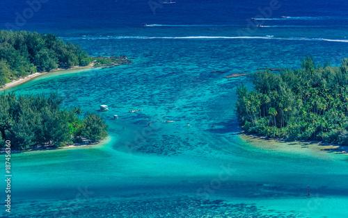 lagon de Polynésie  - 187456360