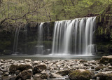 Ystradfelte waterfall Brecon Beacons Wales