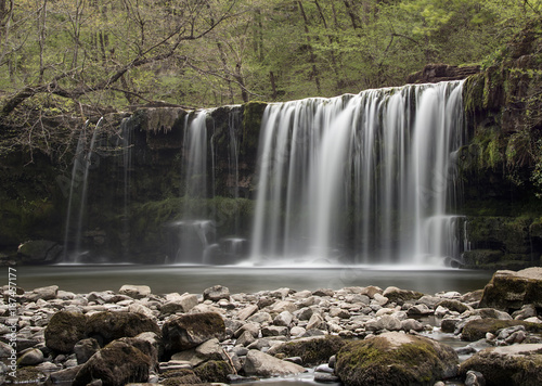 Ystradfelte waterfall Brecon Beacons Wales