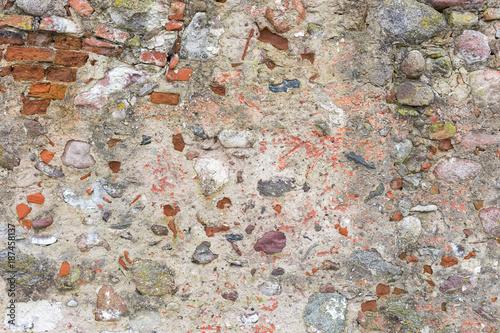 In de dag Stenen Background of stone wall texture photo