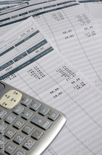 Euro Pay slip and calculator - 187463340