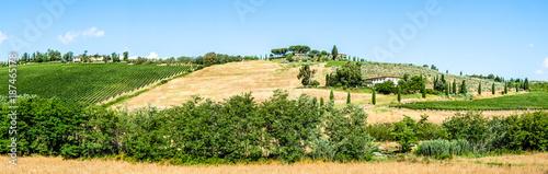 Deurstickers Toscane tuscany landscape