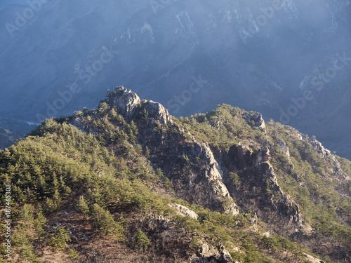 The hight mountain in Seoraksan National Park. South Korea - 187465308