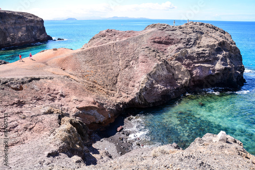 Landscape in Tropical Volcanic Canary Islands Spain - 187467573