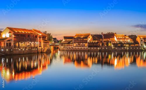 Staande foto Scandinavië Suzhou town