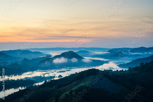 Landscape from the top of mountain