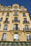 Immeuble haussmannien de l'île de la Cité à Paris, France - 187476525