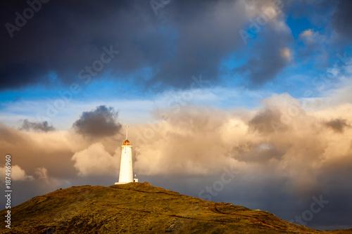 Foto Murales Reykjanesviti lighthouse