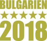 Bulgaria 2018 stars gold german - 187499156