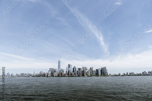 Foto op Aluminium New York Skyline of New York City.