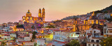 Panorama of Taxco city at sunset, Mexico - 187538592