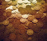 Mounds of bitcoin
